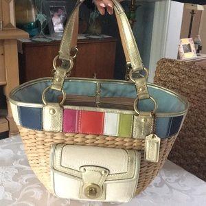 Coach Vintage Limited Edition Basket in Beige